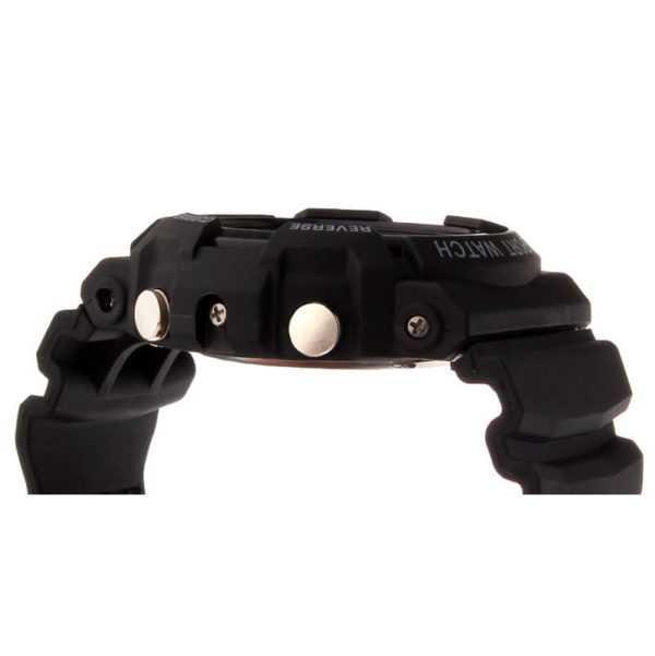 Sanda modern fekete digitális karóra