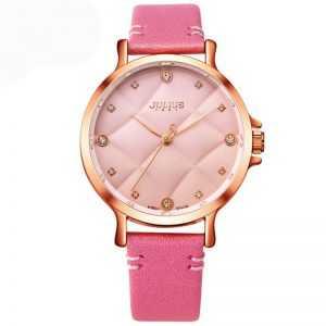 Julius trendi csajos rózsaszínű női karóra