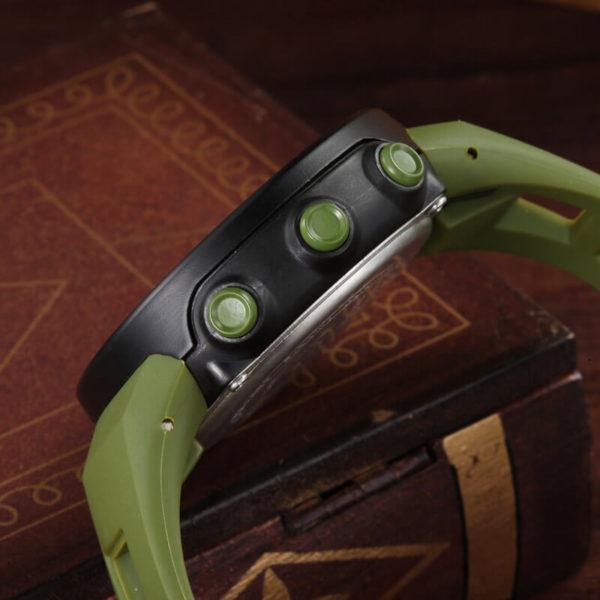 Ohsen digitális zöld szíjas vízálló karóra